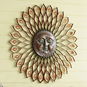 embossed daystar wall decor