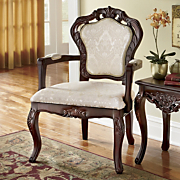 maurelle hand carved arm chair