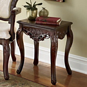 marnia hand carved side table