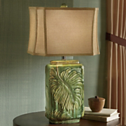 maldives raised leaf lamp