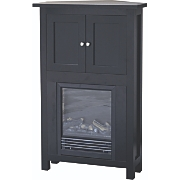 Fireplace With Cabinet