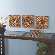 Magnolia 3pc Wall Set
