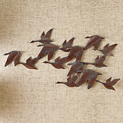 Flock Of Geese Wall Art