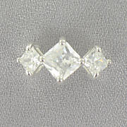 Cubic Zircona Square Ring