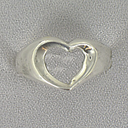 Open heart Ring Z