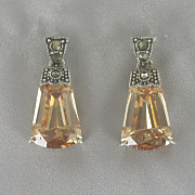 Amber tone Earrings