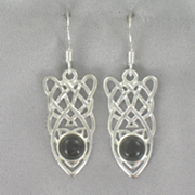 Celtic Onyx Earrings