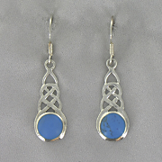 Celtic Lapis Earrings