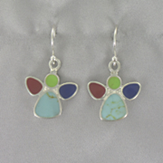 Mosaic Angel Earrings