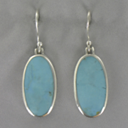 Jade Oval Earrings