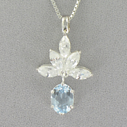 Oval Leaf Pendant