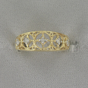 Diamond Filigree Band