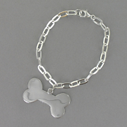 Dog Bone Id Bracelet