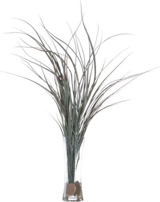 Tall Grass In Acrylic Water