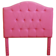 Girls Pink Headboard