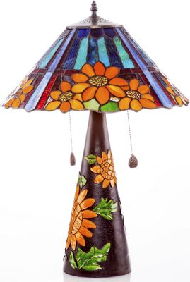 Sunflower Inspired Table Lamp