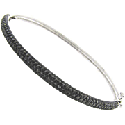 Black Diamond Bangle