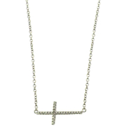 Horizantal Cross Necklace