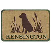 Personalized Sport Dog Mat