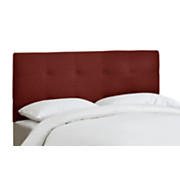 Chic Cotton Upholstered Headboard