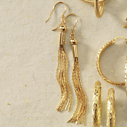 tassel wire earrings