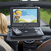 9 inch swivel screen portable dvd player