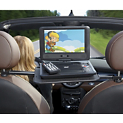 9 inch swivel screen portable dvd player vehicle mount
