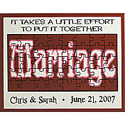 marriage puzzle sign