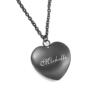 personalized heart pendant 6