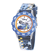 personalized disney cars blue watch