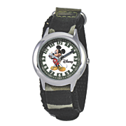 personalized black mickey mouse watch