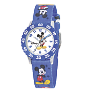 personalized disney mikey mouse strap watch