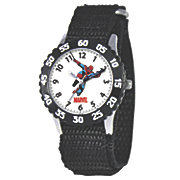 personalized black marvel spiderman watch