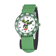 personalized green marvel hulk watch