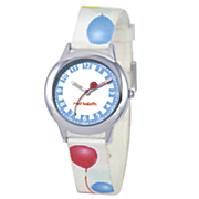 personalized red balloon watch