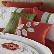coral garden 2 piece pillow set