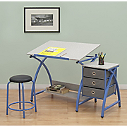 comet center with stool