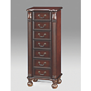 calista jewelry armoire
