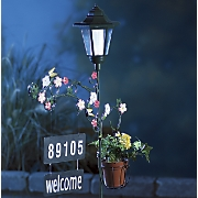 Personalized Solar Address Lantern