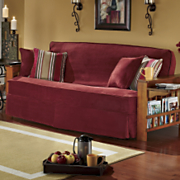 3 Piece Skirted Futon Cover Set