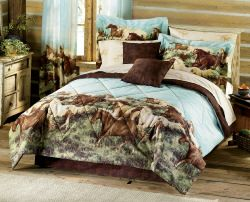 Thunder Run Bedding and Window Treatments
