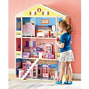 Doll Townhouse and Furniture