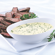 Grilled Ribeye with Wisconsin Havarti Fondue