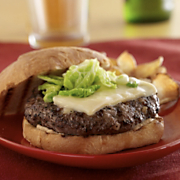 Wisconsin Lim burgers with Savoy Cabbage