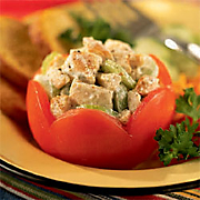 Chicken Stuffed Tomato Recipe