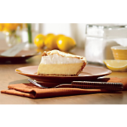 Creamy Lemon Cheese Pie with Meringue Topping