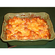 Kristins Tator Tot and Cheese Bake
