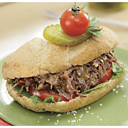 Easy Shredded Beef Sandwiches