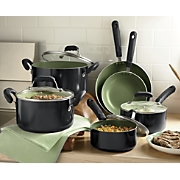 Ginnys 10 pc Nonstick Cookware Set