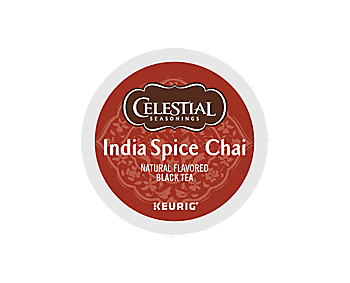 Celestial Seasonings 174 India Spice Chai K Cup Keurig